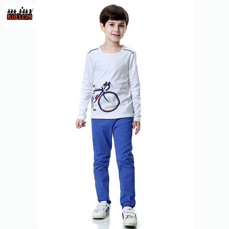 Hot Sale Spandex Cotton Winter Autumn Teen Boys clothing set For Kids boys 4-14 Years фото