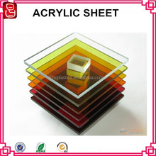 colored painting high quality customized sign thick acrylic display board