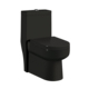 HS-8987 Hot sale dual flush german toilet,black toilet bowl color