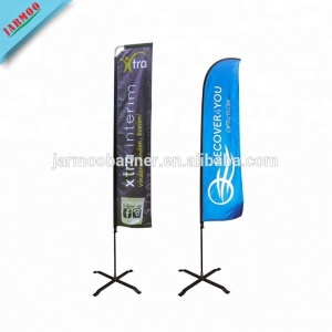 Novelty Promotional Feather Flag At Swooper