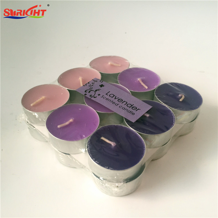 Lavender Scented 18 Pack Bath Aroma Handmade Tealight Candle