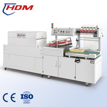 Automatic Shrink Tunnel L Sealer Heat Shrink Wrapping Machine