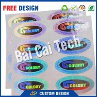 Free samples cheap authenticity 3d hologram stickes with custom logo