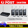 AU! Takstar WPM-200 Stereo In-Ear Wireless Monitor 1 Transmitter & 4 Receivers