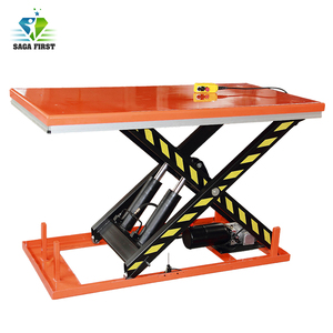Stationary Static Hydraulic Electric Lifting Table