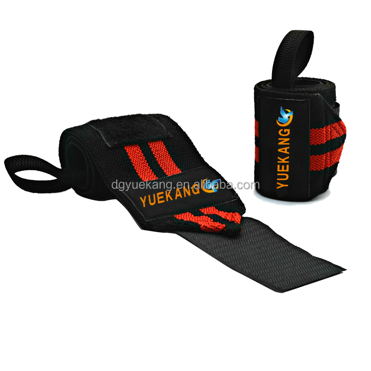 "Wrist Wraps - 18"" Professional Grade With Thumb Loops - Wrist Support Braces for Weight Lifting, Xfit,Powerlifting"
