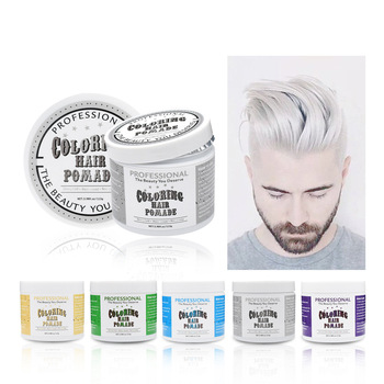 Professional disposable hair color changing colorful hair wax