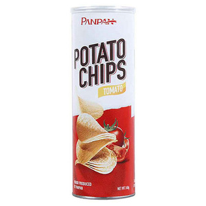 Panpan malaysian snack ingredients potato chips
