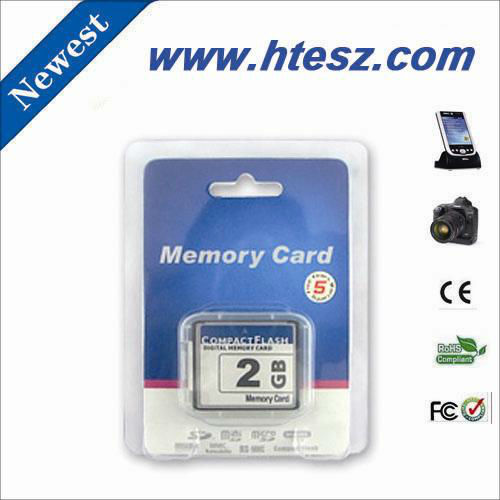 high quality 2 gb cf card with factory price