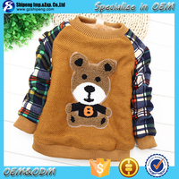 Boys Hand Made Sweaters Knitted Shirt Wool Sweaters For Children ...