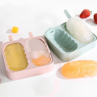 DIY food grade eco-friendly silicone plastic popsicle/chocolate mold