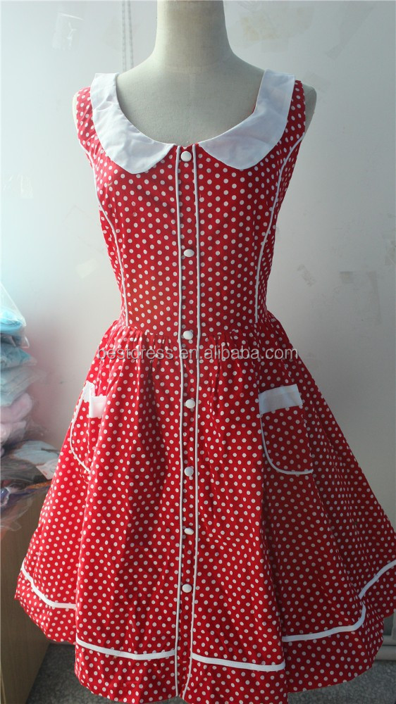 China wholesale vintage rockabilly dress retro Maggie Tang 50s Retro Vintage Swing Jive Rockabilly Dress