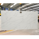 Hot Sale High Quality Polished Artificial Calacatta Thin Quartz Slab Stone Price