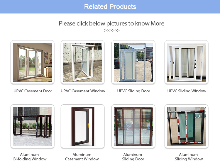 High Quality Guangzhou PVC Sliding Folding Glass Doors For Bathrooms