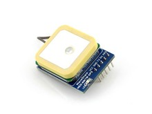 UART GPS Module, NEO-7M-C onboard, straight/vertical pinheader