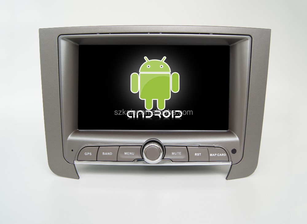 Quad core!car dvd with mirror link/DVR/TPMS/OBD2 for 7inch touch screen quad core 4.4 Android system Ssangyong Rexton