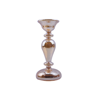 fdc57d5b61110 Battery powered handmade tall glass candle holders for weddings