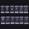 Private Custom 3D Laser Crystal Zodiac Insiding Carving Cube Valentine's Day Present Wedding Favors