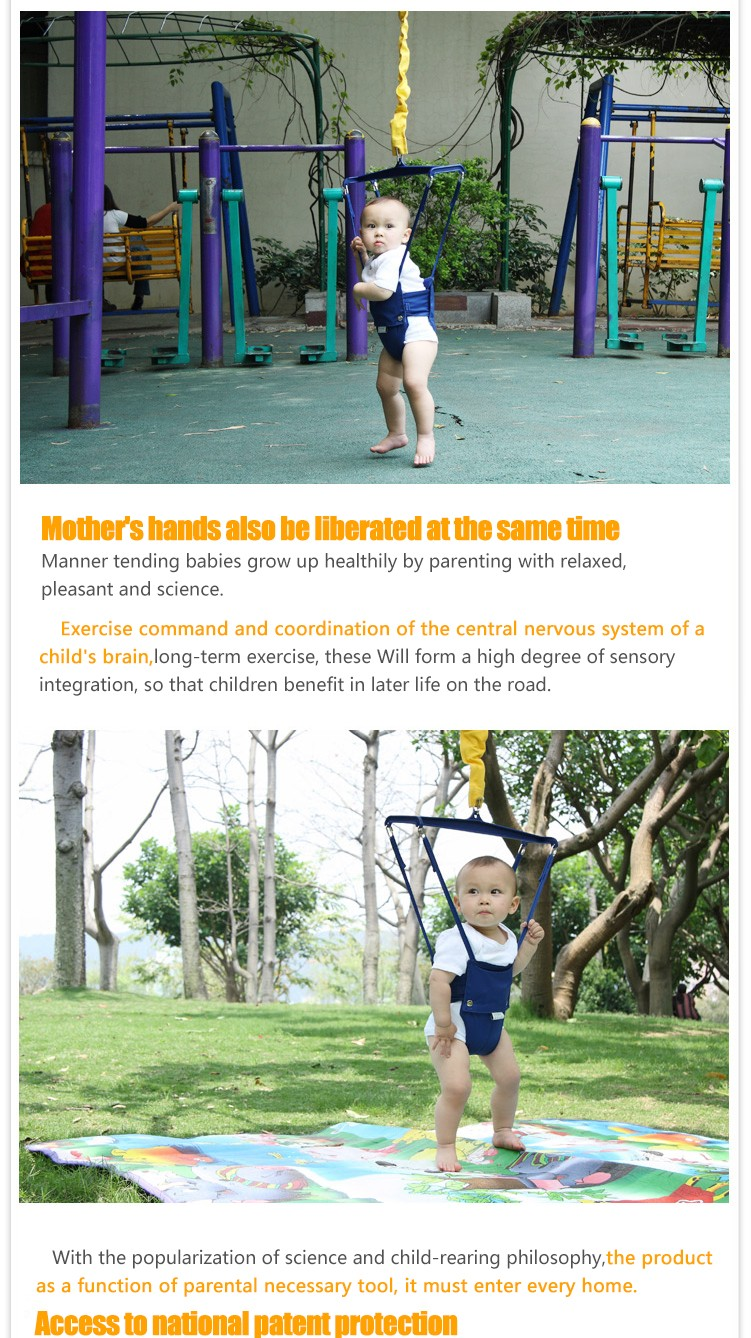 0b99c88a67a4 EVEBEL Baby Jumper baby bouncing chair fitness toys 0-2 years old ...