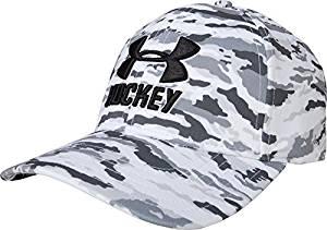 8189b46de77 Get Quotations · Under Armour Men s Sr. UA Hockey Camo Stretch Cap