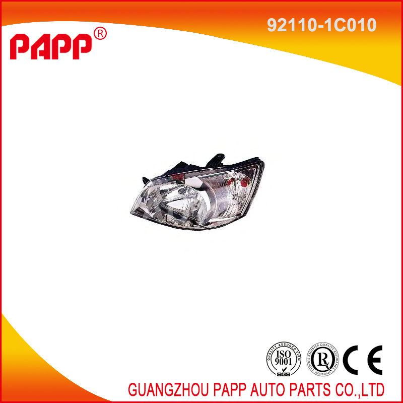 car headlight manufacturer 92110-1C010 for hyundai parts
