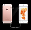 Transparent 3D Shockproof Case for iPhone 7 Case For Iphone7 7Plus Candy Color Crystal Soft TPU Silicone Gel Phone Cases Cover