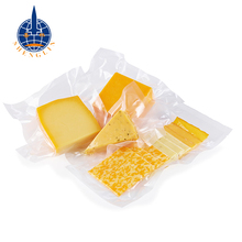 3 side sealed plastic high barrier vacuum bags for food packaging retort pouch with tear notch
