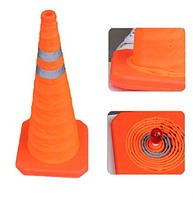 Hot Selling ISO Certificate Fast Delivery 36cm collapsible cone flashing reflective x Wholesale in China