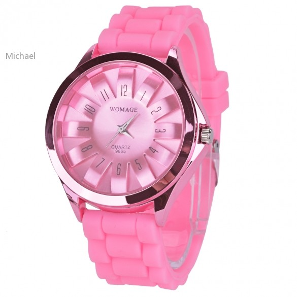 hot !!! wholesale Casual Geneva Watch Unisex Quartz watch charm 5 color women wristwatches Sports dress Watches SV20