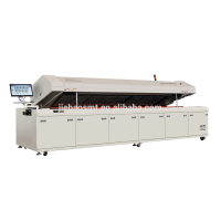 Aluminum SMT reflow soldering oven for LED
