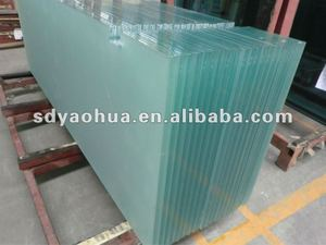 6-12mm Acid Etched Tempered Glass (CCC AS/NZS2208:1996 )