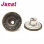 anti-copper metal button middle hole shank button pass oeko-tex