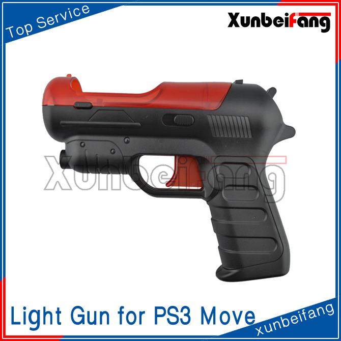 Handgun Pistol Light Gun for PS3 Move Motion Controller