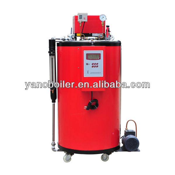 small vertical gas/oil steam fired boiler