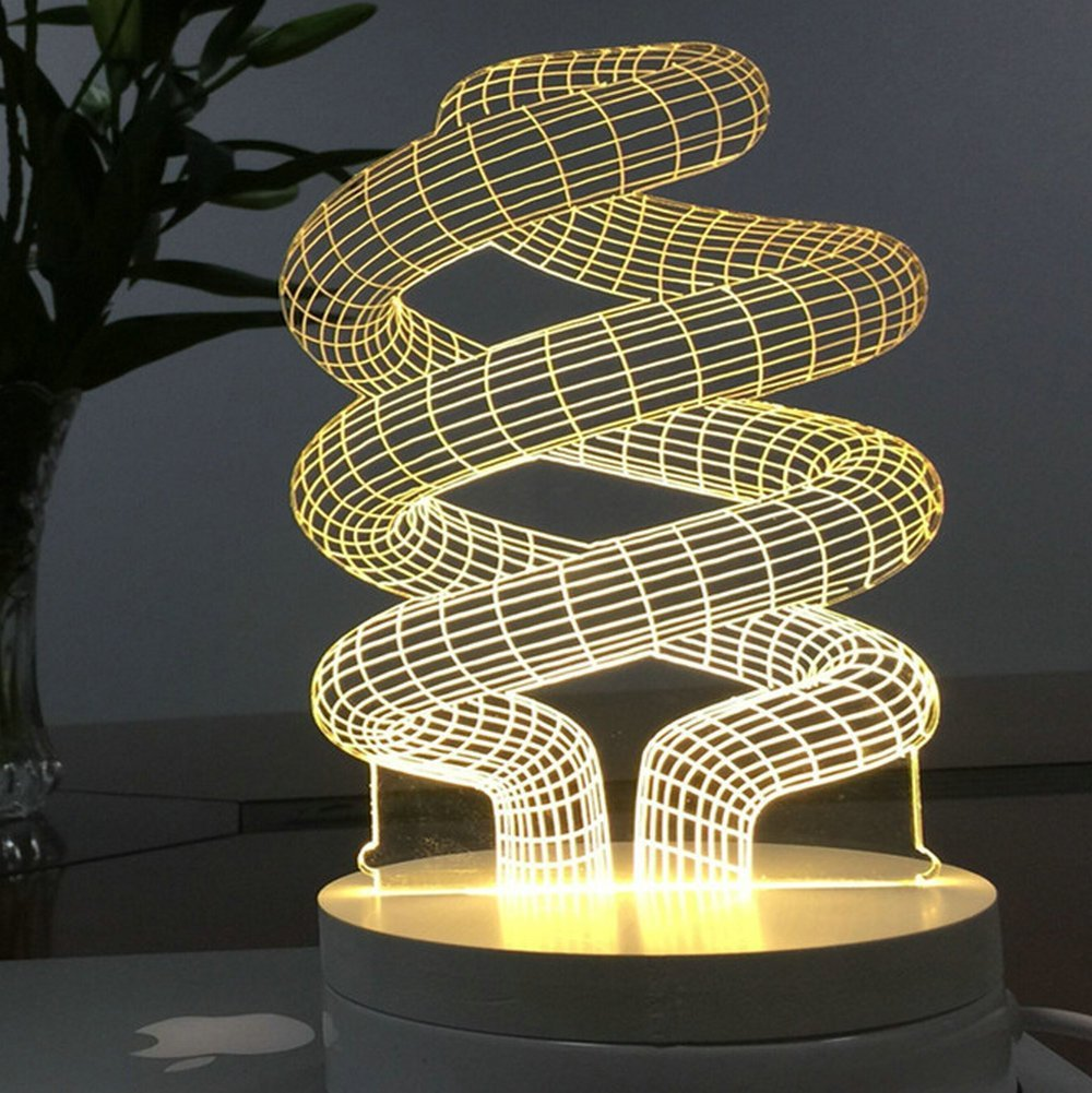 cheap lighting effects. Protect 3D Glow LED Lamp Kids Room Art Sculpture Lights Produces Unique Lighting Effects Creative Nightlight Cheap