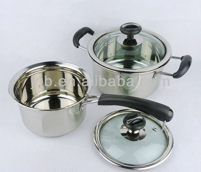 Non-magnetic Stainless Steel Stock Pot