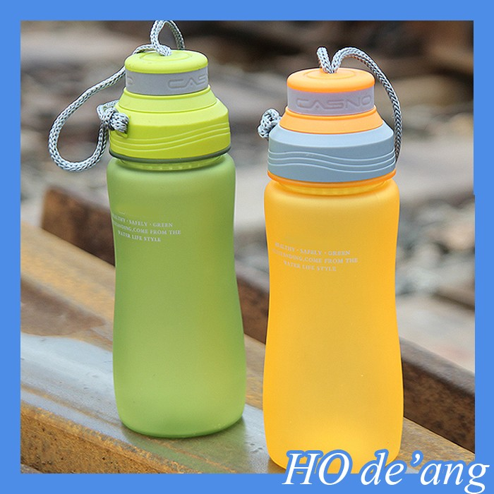 HOGIFT Hot sale Matt finish frosted drinking water bottle 600 ml bpa free tritan sports bottles