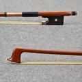 Master Level Tourte Pernambuco Material 10K Gold Mounted Violin Bow White Natural Mongolia Horse Hair Well