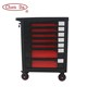 New design CD-3070 Plus 7 drawers tool trolley with 220pcs 4 drawers tools set