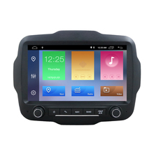 "ZYCGOTEV 9 ""Android 9.0 2 din รถ Central Armrest DVD Player วิทยุสำหรับ Jeep Renegade 2016 2017 2018 สเตอริโอ GPS นำทาง"