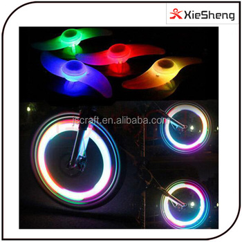 3 Modes Colorful Bright Led Flash Lamp Bicycle Wheel Tire Wire ...