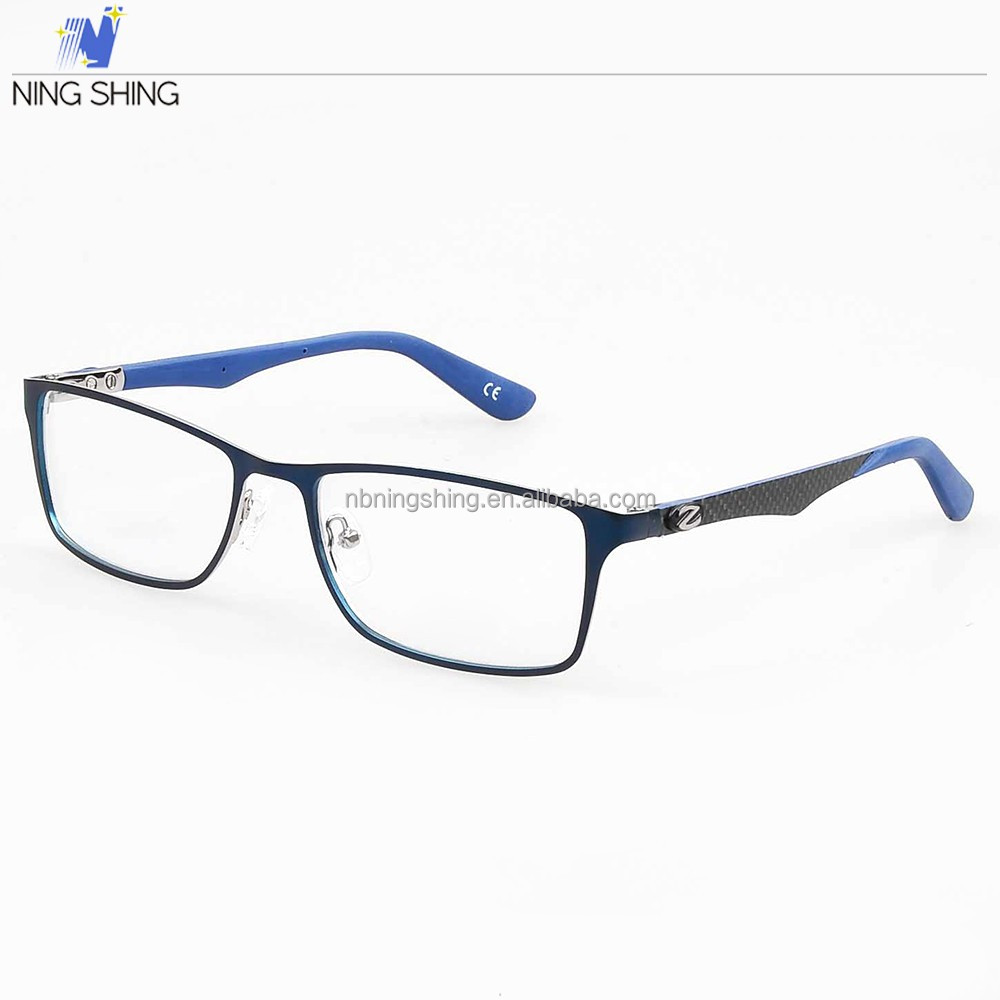 New Model Hand Polished On China Market Vogue Wide Temple Metal Optical Frames