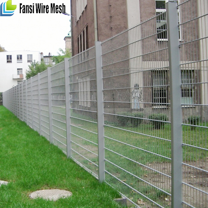 1.2m high plastic coated fence panel for UK market