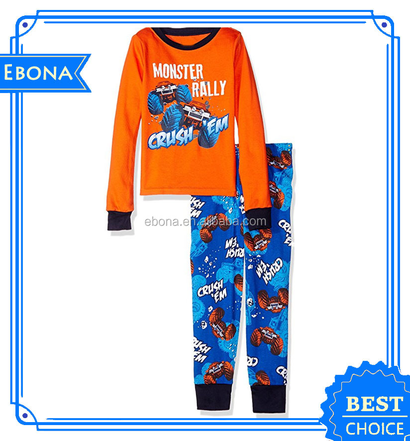 2017 Hot Comfortable Baby Sleepwear Wholesale Kids Christmas Pajamas