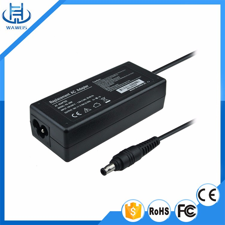 Laptop Adaptor For Samsung 60W 19V 3.16A universal adaptor