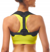 2019 Amazon Hot Sales New Products Adjustable Upper Back Brace/Clavicle Support/Posture Corrector,