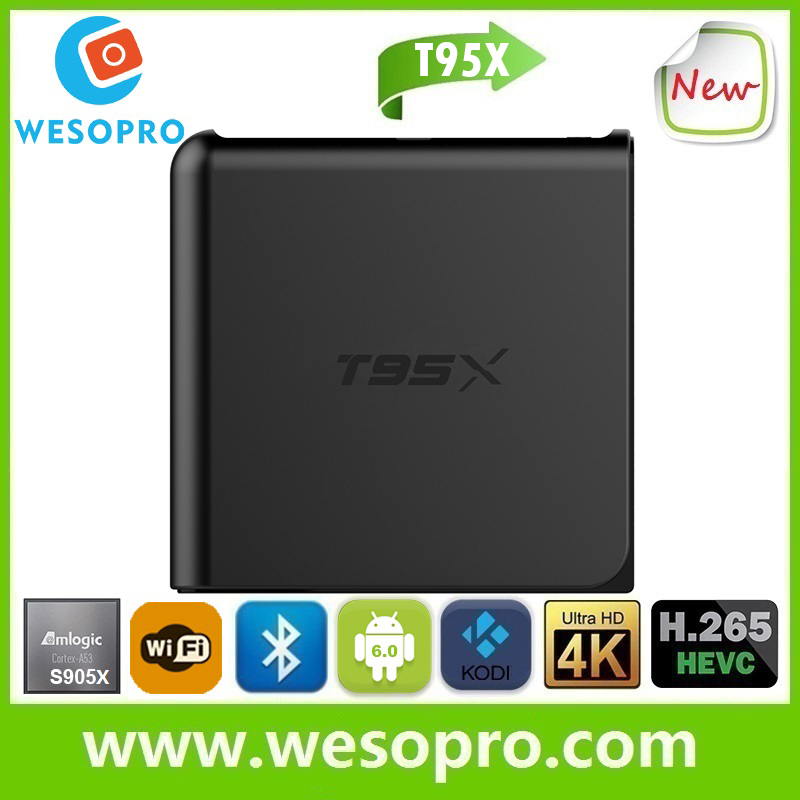 best android <strong>set</strong> <strong>top</strong> <strong>box</strong> Kodi 17.0 pre-installed <strong>tv</strong> <strong>box</strong> T95X mini pc