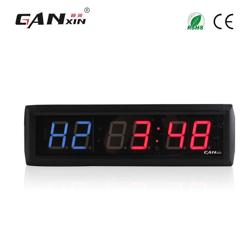 [Ganxin]Low Price 1.8'' Remote Control Led Screen Crossfit Timer Used in Treadmill