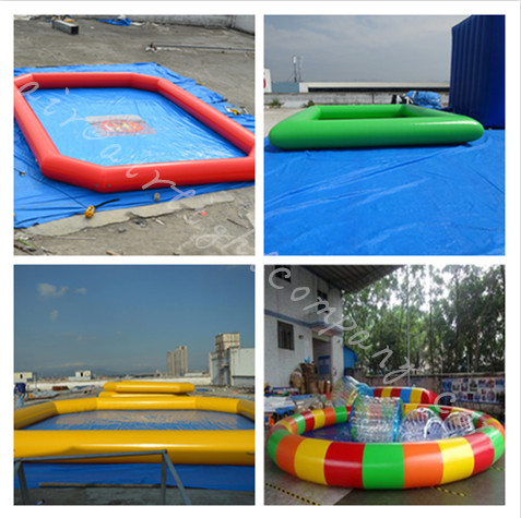 Giant Inflatable Pools Good Price, For Sale or Rental Inflatable Pools Color and Size can be Custom Made
