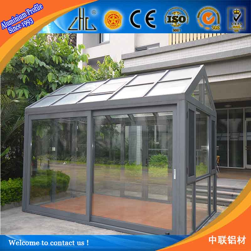 guangdong zhonglian aluminium profile factory anodized industrial aluminium manufacturer / OEM aluminium profile for green house